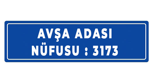 Avşa Adası Nüfusu 2020