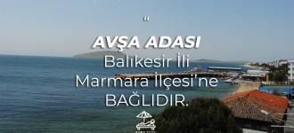 AVŞA ADASI - MARMARA ADASI