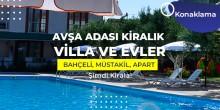 avşa adası kiralık evler villalar apartlar