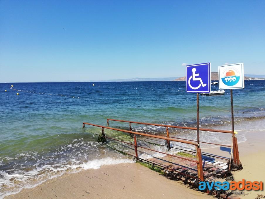 Avşa Adası Engelli Plajı